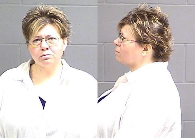 Rebecca S. Sanders, 44, Female/White. Fail to appear misconduct in court. BODY ONLY.