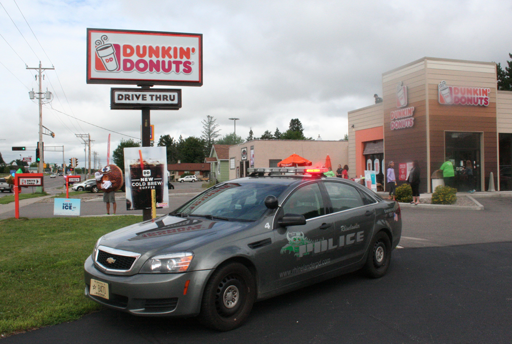 Rhinelander Police Officers Do Time On A Roof Star Journal