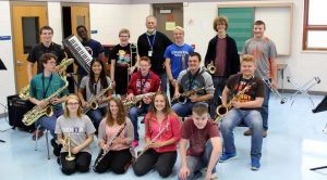 The Three Lakes High School Jazz Ensemble is one of several bands under the direction of Mark Pieplow. Submitted photo.